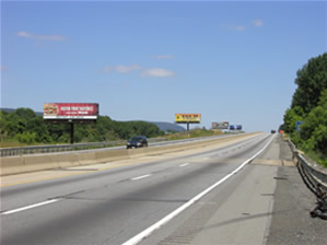 I-78 East bound Billboards